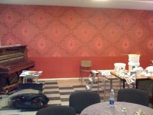 Café under renovering